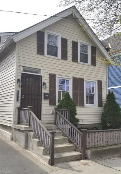 Ohio City Single Family Home Active Under Contract: 2078 W 41st Street