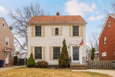 Cleveland Single Family Home For Sale: 3468 West 159th St