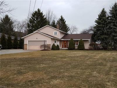 Willoughby Hills Single Family Home Contingent: 30651 Eddy Rd
