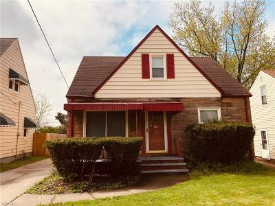 Maple Heights Single Family Home For Sale: 15302 Turney Rd