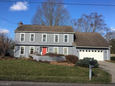 Marietta OH Single Family Home For Sale: $329,000