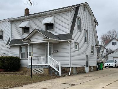 Euclid Single Family Home For Sale: 1523 East 204th St