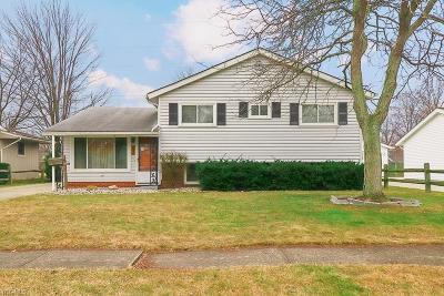 Elyria Single Family Home For Sale: 709 Thornwood St