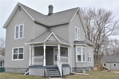 Conneaut Single Family Home For Sale: 530 Sherman St