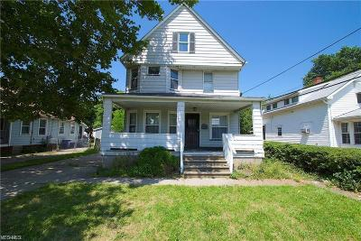 Cleveland Single Family Home For Sale: 19601 Chardon Rd
