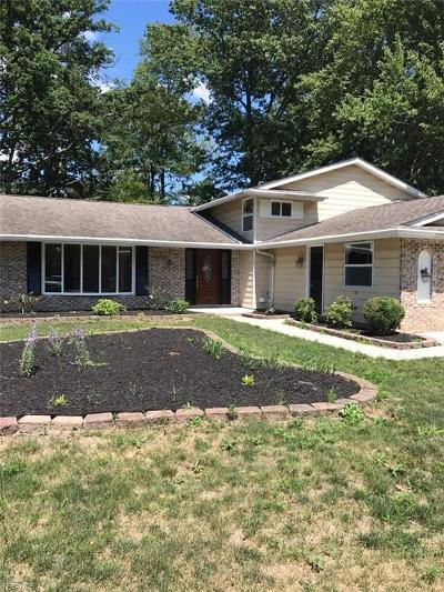 Strongsville Single Family Home For Sale: 20738 Parkwood Ln
