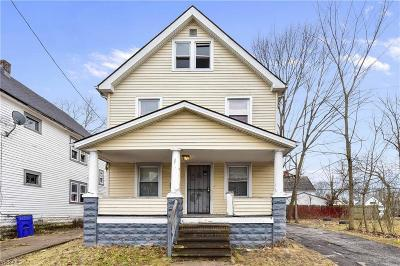 Cleveland OH Single Family Home For Sale: $40,000