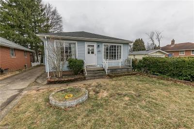 Cleveland Single Family Home For Sale: 3457 Carrmunn Ave