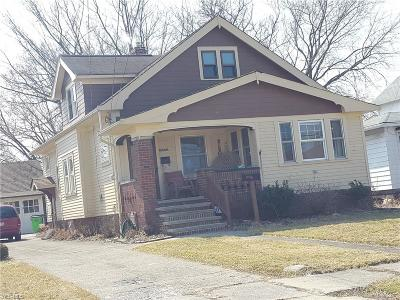 Euclid Single Family Home For Sale: 18870 Abby Ave