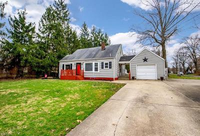 Mineral Ridge Single Family Home For Sale: 1296 Ohltown McDonald Rd