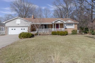 Westlake Single Family Home For Sale: 26792 Hilliard Boulevard