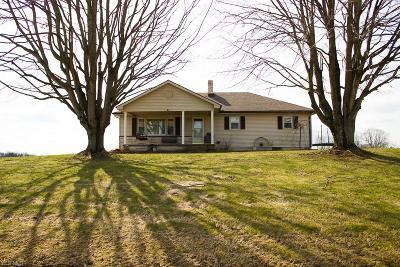 Guernsey County Single Family Home For Sale: 5226 High Hill Rd