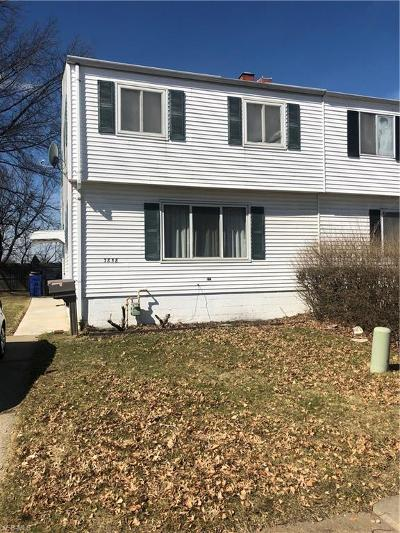 Single Family Home For Sale: 3858 West 165 St