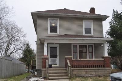 Single Family Home For Sale: 118 Corwin Ave