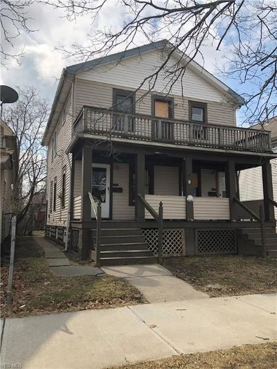 Cleveland OH Multi Family Home For Sale: $39,000