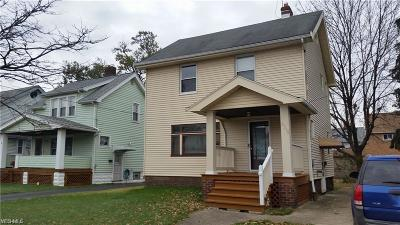 Cleveland OH Single Family Home For Sale: $85,000