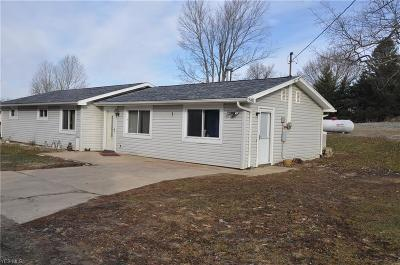 New Waterford Single Family Home Active Under Contract: 5481 State Route 7