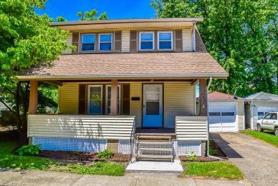 Massillon Single Family Home For Sale: 939 Cornell St Northeast