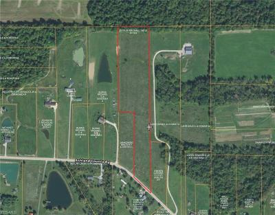Ashland County Residential Lots & Land For Sale: Co Road 620