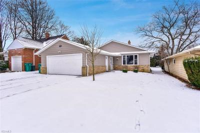 Single Family Home For Sale: 4956 Donald Ave