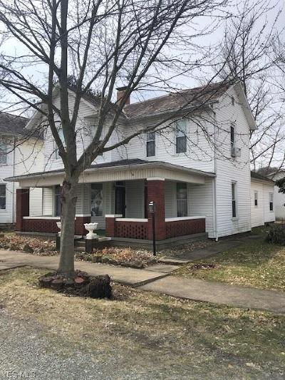 Dresden Single Family Home For Sale: 611 Chestnut St