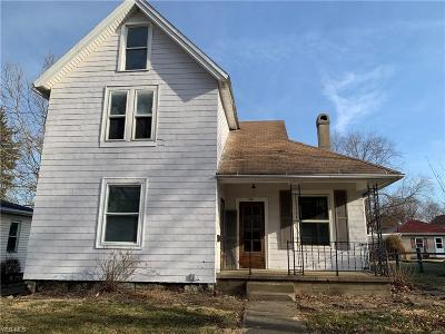 Massillon Single Family Home For Sale: 416 State Ave Northeast