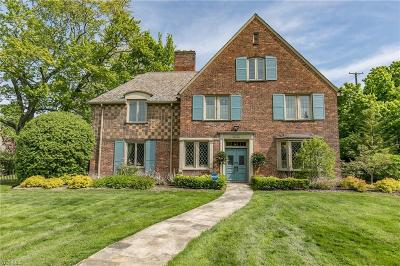 Shaker Heights Single Family Home For Sale: 19701 South Woodland Rd