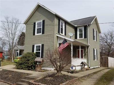 Muskingum County Single Family Home Contingent: 630 Spangler Dr