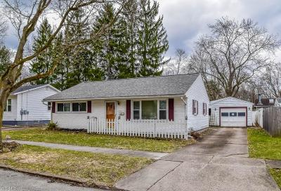 Kent Single Family Home For Sale: 304 Pleasant Ave