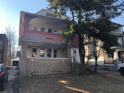 Cleveland Multi Family Home For Sale: 3316 East 139th St