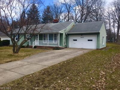 Single Family Home For Sale: 4655 West 210th St