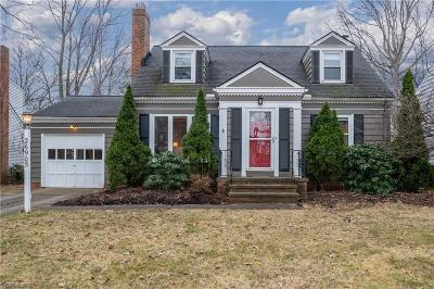 Bay Village Single Family Home For Sale: 26905 Midland Rd