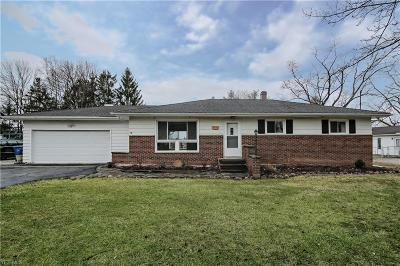 Single Family Home For Sale: 8430 Valley View Rd