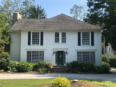 Single Family Home For Sale: 7545 Old Mill Rd