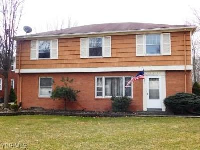 Boardman OH Multi Family Home For Sale: $96,900