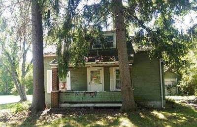 Girard Single Family Home For Sale: 1965 Tibbetts Wick Rd