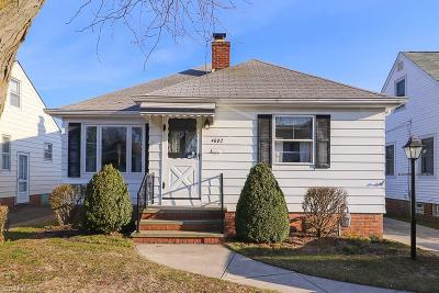 Single Family Home For Sale: 4602 Maplecrest Ave
