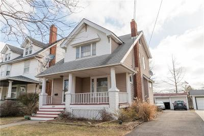 Lakewood Single Family Home For Sale: 1559 Elbur Ave