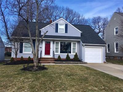 Lyndhurst Single Family Home For Sale: 5215 Case Ave