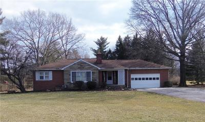 Solon Single Family Home For Sale: 28570 Cannon Road