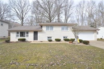 Boardman OH Single Family Home For Sale: $159,500