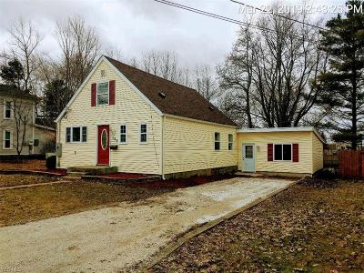 Single Family Home For Sale: 125 Uselma Ave