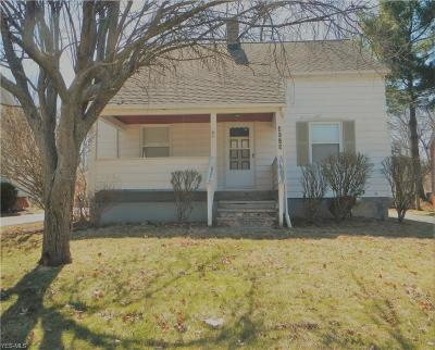 Single Family Home For Sale: 4628 Liberty Rd