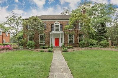 Shaker Heights Single Family Home For Sale: 20776 Brantley Rd