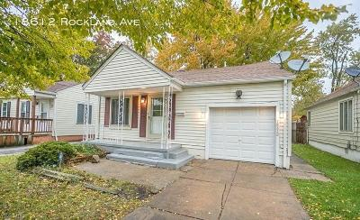 Single Family Home For Sale: 18612 Rockland Ave