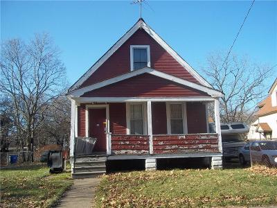 Cleveland Single Family Home For Sale: 2930 East 114th St