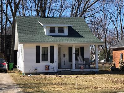 Lorain County Single Family Home For Sale: 160 Miller Rd