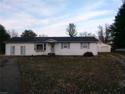 Little Hocking Single Family Home For Sale: 122 Oak Dr