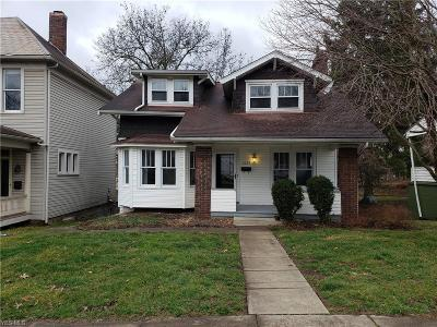 Zanesville OH Single Family Home For Sale: $124,900