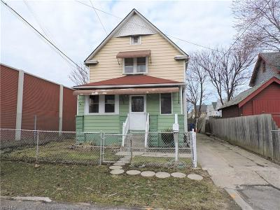 Cleveland Single Family Home For Sale: 3578 West 35th St
